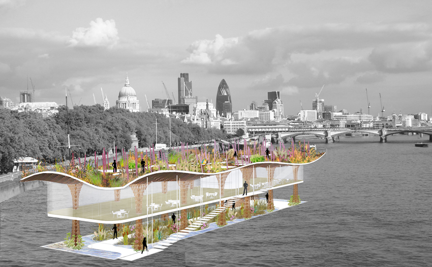 Art Gallery on Thames River • Architecture ByNature
